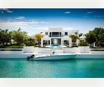 Luxury Waterfront Villa with Boat Dock in the Turks and Caicos Islands for Sale