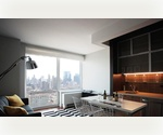 Studio Apartment in a Brand New, Full Service, Luxury High-Rise Building in Midtown West