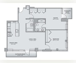 2 Bedrooms/ 2 Bathrooms approx 1200SF + Private Outdoor Space 150SF- LUX BUILDING!