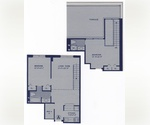Two bedroom DUPLEX with private outdoor space and laundry in Gramercy/ Kips Bay