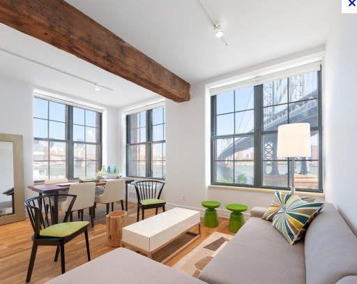 DUMBO Brooklyn ** LOFT 4 Rent ** Space ** Light ** Bohemian Character , Luxury Finish ** 1 Bed/1 Bath - $3600/month  LOW FEE