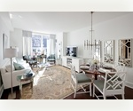 Luxury 2 bedroom and 2 bath in full service Upper West Side Building.