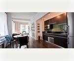*No Broker Fee* Chic & Modern Two Bedrooms Apartment in the Financial District